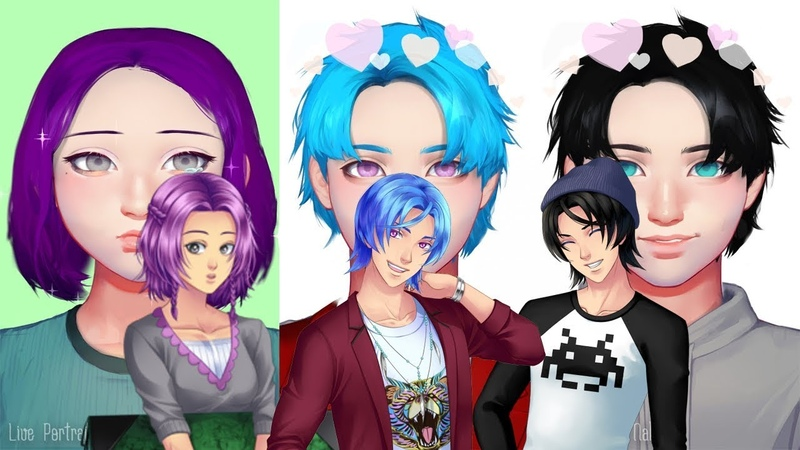 [Life portret maker]Создаю Алекси, Армина и Виолет!