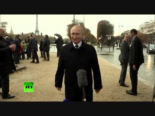 Это не имеет ничего общего с демократией: Путин о ситуации с RT во Франции