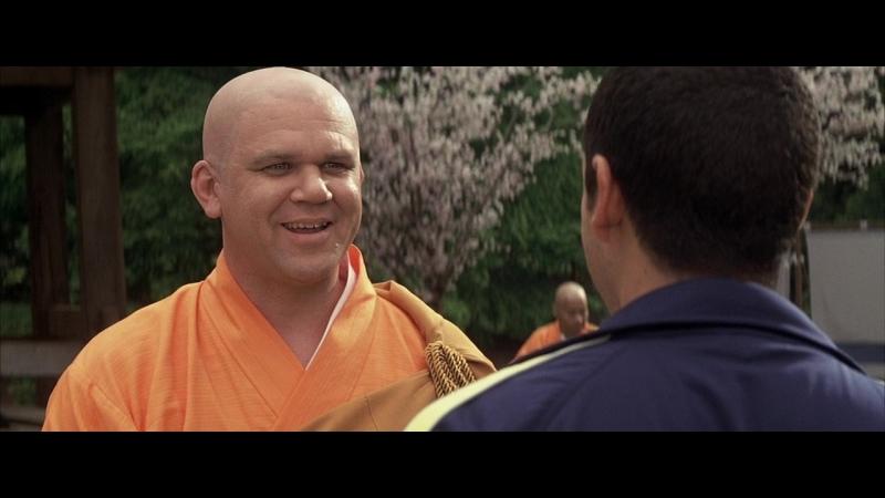 Управление гневом - Дэйв дерется с буддистом