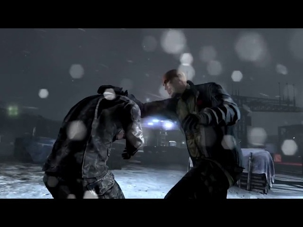 Splinter Cell Blackilst Scissor Takedown