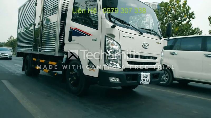 Xe tải Đô Thành IZ65 GOLD - Người vận chuyển đắc lực