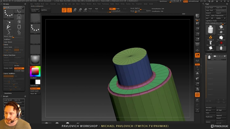PavWork10: Hard Surface ZRemesh