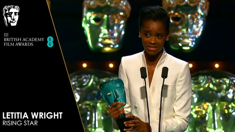 Letitia Wright Wins EE Rising Star Delivers Heartfelt Speech | EE BAFTA Film Awards 2019