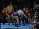 1991.11.16 - Andre The Giant/Giant Baba vs. Joel Deaton/Billy Black [FINISH]