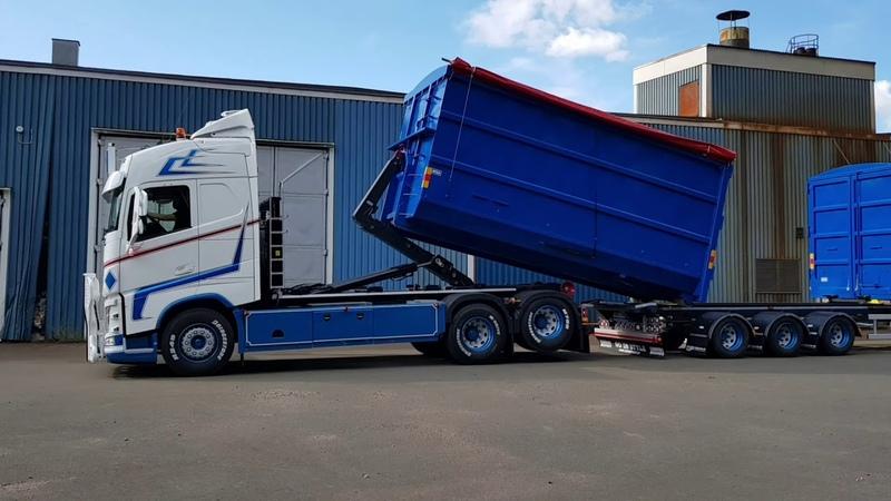 Volvo Fh4 Lastväxlare Lood's åkeri