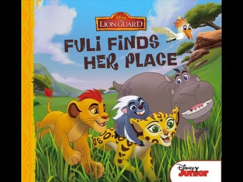 Disney's THE LION GUARD FULI FINDS HER PLACE I Read-Aloud Children's Storybook