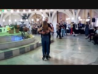 Andrey Khrapov & Julia Permikina. Kizomba Invasion 2018. Social Room