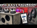 EPIC 8 BASS Excursion! 2 B2 Audio XM8 Gately Audio Ported Box - Russian Baltic Birch!
