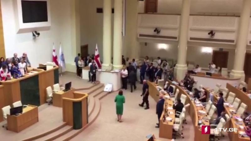 """ემზარ კვიციანმა """"ევროპული საქართველოს"""" დე43"""