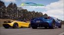 McLaren 720S vs Ferrari 488 Spider - Drag Race - Motorgrid on Track