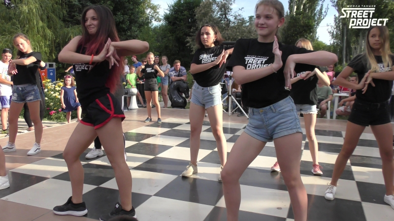 Выступление 24.06.2018 в парке ВГС | STREET PROJECT | Школа танцев Волжский