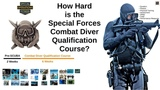 How Hard is the Special Forces Combat Diver Qualification Course (CDQC) - SCUBA School
