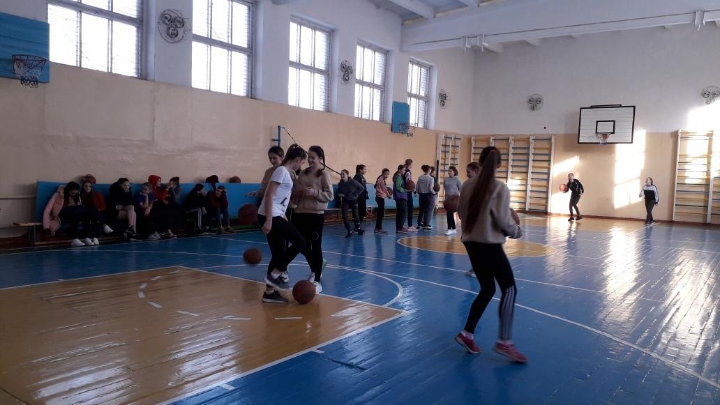 Городское первенство по баскетболу (девушки)