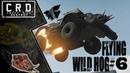Crossout: [ Tusk Harvester ] FLYING WILD HOG 6 [ver. 0.9.65]
