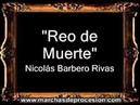 Reo de Muerte - Nicolás Miguel Barbero Rivas AM