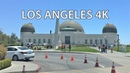 Driving Downtown - Griffith Observatory 4K - USA