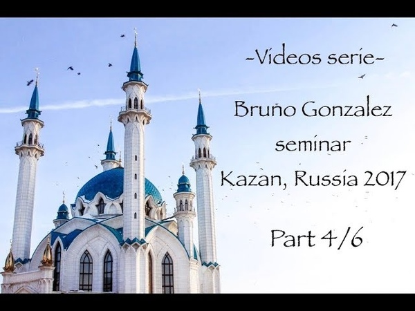 Irmi nage, naname Bruno Gonzalez Kazan seminar, Russia 2017 Part 4
