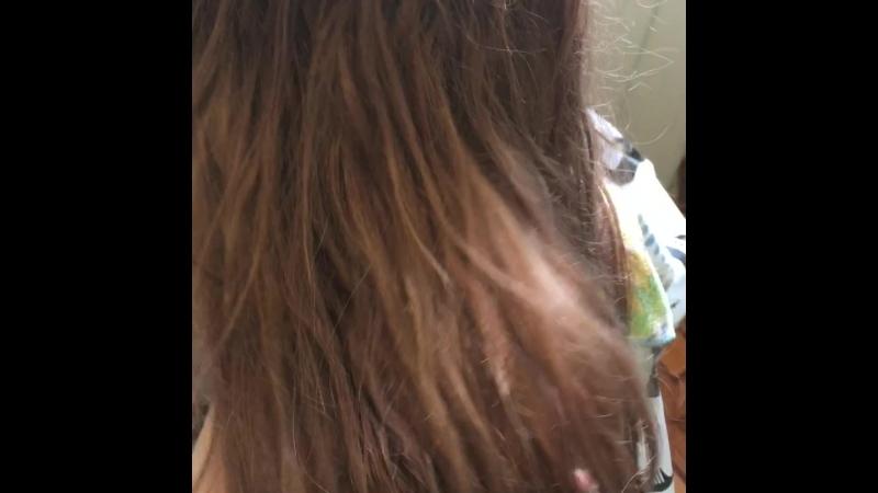 Выпрямление и увлажнение на нарощенные волосы 🥥🥝🍑🍒🍓