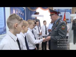 Ученики школы № 7 приняли кадетскую присягу
