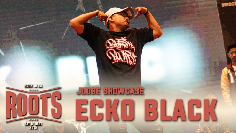 Ecko Black (INA) | Judge Showcase | Eat D Beat 2018 Bandung, Indonesia | RPProds