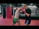Встречные удары локтями в тайском боксе от Андрея Басынина