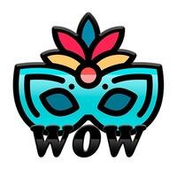 Логотип WOW-вечеринки в Самаре
