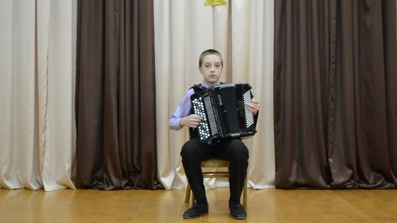 Митин Данил.12 лет. Ю. Гаврилов. Метелица
