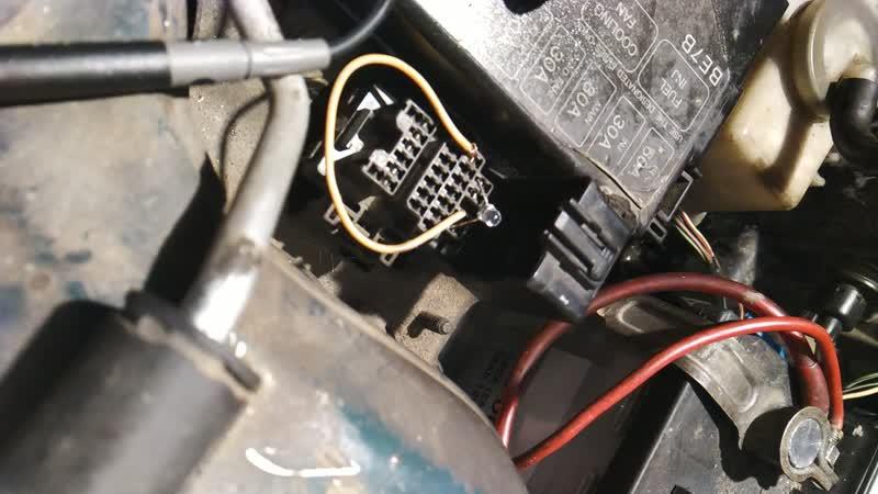 Mazda 323f диагностика 28.11