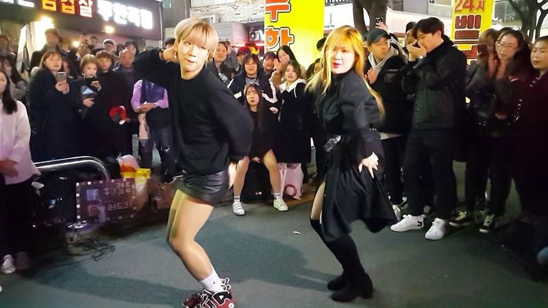 《현아_메들리》ChangeBubblePop잘나가서그래 레드크루(이강용) 한소연 2018.11.10 여왕님들