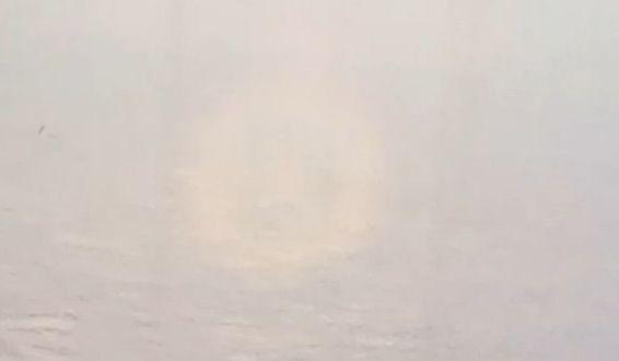 Полная Радуга Гло́рия (лат. gloria — украшение; ореол) — оптическое явление в облаках. Наблюдается на облаках, расположенных прямо напротив источника света. Наблюдатель должен находиться на горе или на самолёте, а источник света (Солнце или Луна) — за его спиной. Так же можно наблюдать на видео или фотографиях снятых с дистанционно пилотируемых летательных аппаратов. Представляет собой цветные кольца света на облаке вокруг тени наблюдателя. Внутри находится голубоватое кольцо, снаружи — красноватое, далее кольца могут повторяться с меньшей интенсивностью. Угловой размер намного меньше, чем у радуги — 5…20°, в зависимости от размера капель в облаке. Глория объясняется дифракцией света, ранее уже отражённого в капельках облака так, что он возвращается от облака в том же направлении, по которому падал, то есть к наблюдателю.