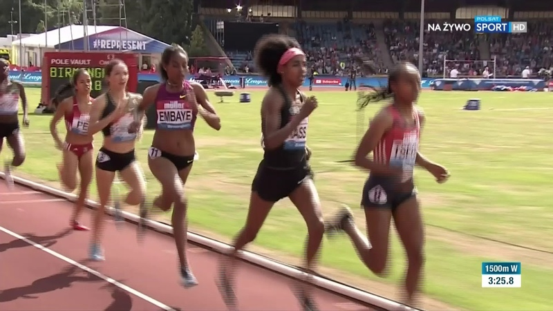 1500m W Diamond League Birmingham 2018