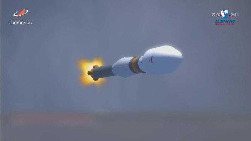 Пуск ракеты-носителя «Союз-2.1а» с космодрома Восточный 27 декабря 2018 года