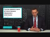 Навальный про цирк и жестокое обращение с животными
