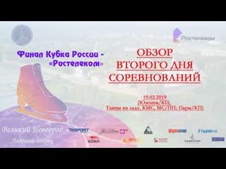 Обзор второго дня соревнований финала Кубка России 2019