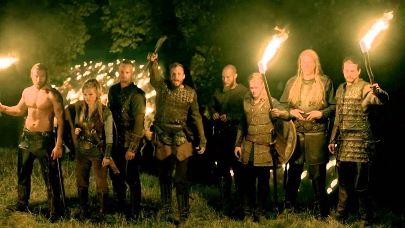 Vikings s03e07 Paris - Floki's War Chant Skeggǫld, Skálmǫld, Skildir ro Klofnir