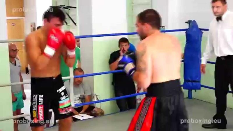 Zaurs Sadihovs 70 1 kg VS Ritvars Kravčenko 68 2 kg