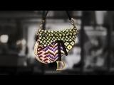 Embroidered Saddle Bag Savoir-Faire