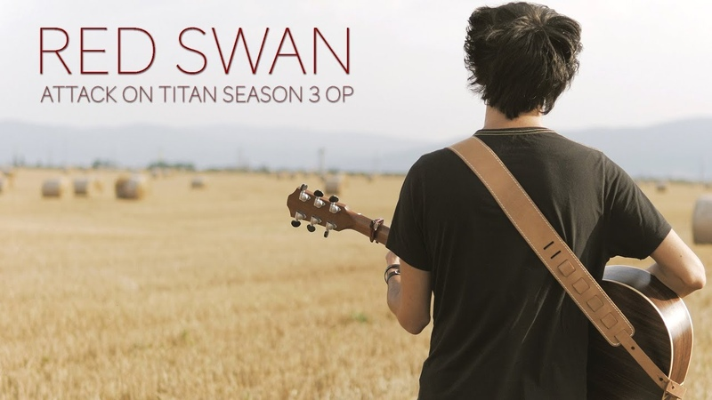 Attack on Titan - Season 3 OP - Red Swan by Yoshiki (Fingerstyle Guitar Cover by Albert Gyorfi)