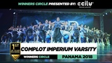 COMPLOT IMPERIUM VARSITY 1ST Place JR Team Winners Circle WOD PANAMA 2018 #WODPANAMA2018 Danceproject.info