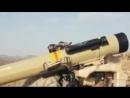 Saudi forces ATGM (Raybolt) strike on houthi vehicle in Saada