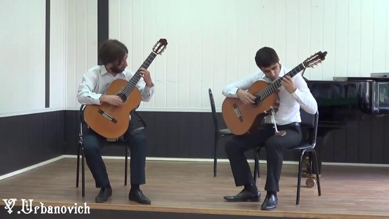 Павел Брынский гитара А Вивальди Концерт для двух мандолин