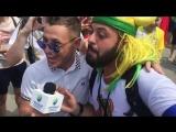 «Казань офигенно»: знаменитый бразильский болельщик Томер Савойя приехал в Казань