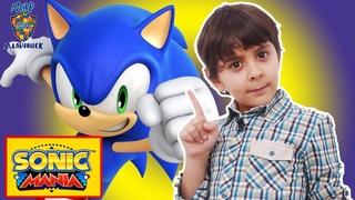 Мир мальчишек • ЯРИК и БЕН 10 играют в SONIC MANIA! Обзор игры.