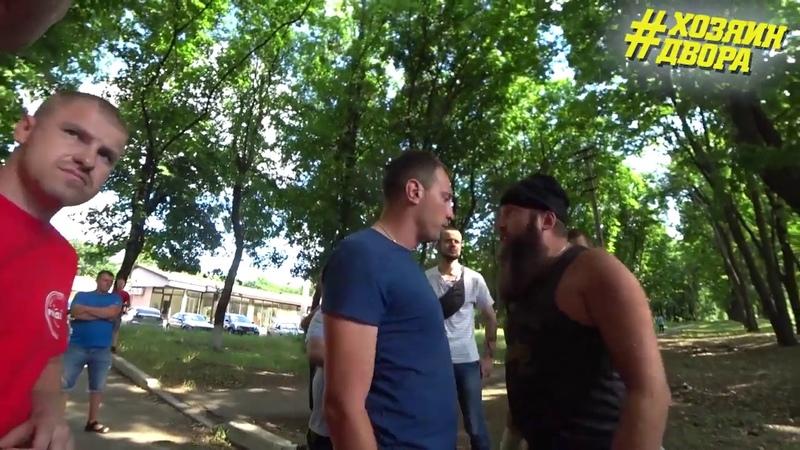Драка с сотрудниками военкомата в Харькове,получили лещей
