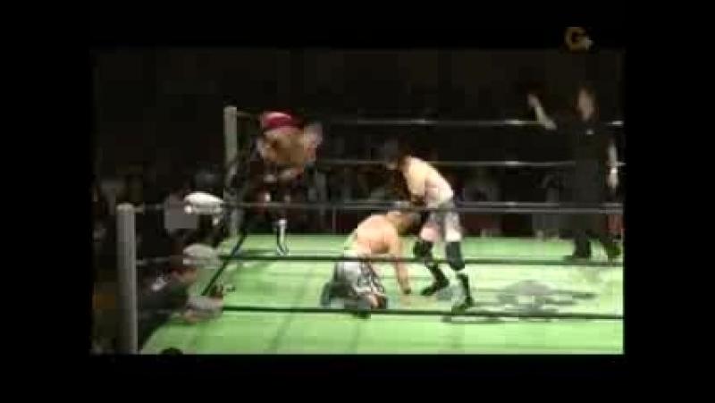 Dick Togo, Yasu Urano vs Kotaro Suzuki, Yoshinari Ogawa