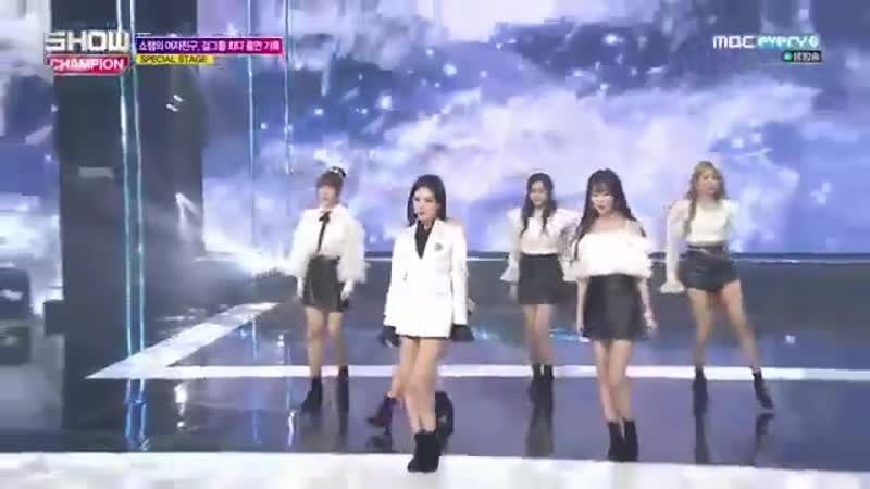 190123 GFriend - Rough Navillera Love Whisper Time For The Moon Night @ Show Champion