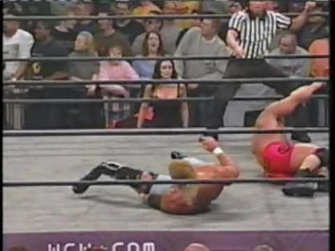 WCW Sid Breaks His Leg