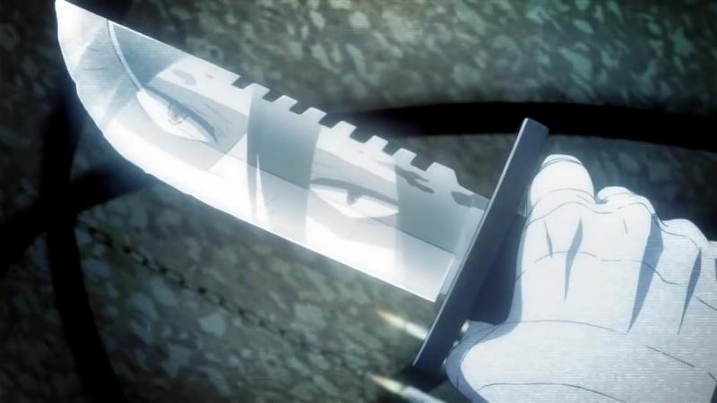 Satsuriku no Tenshi Ангел кровопролития тизер 13 серии