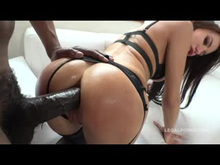 Lola bulgari interracial anal  dp with 2 massive black cocks
