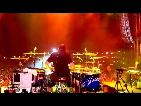 Kai Hahto Nightwish Drumcam 'My Walden' / 20.8.2016 Himos,Finland